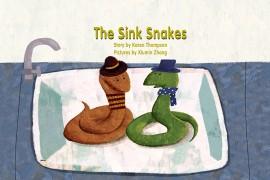 原创绘本《The Sink Snakes》